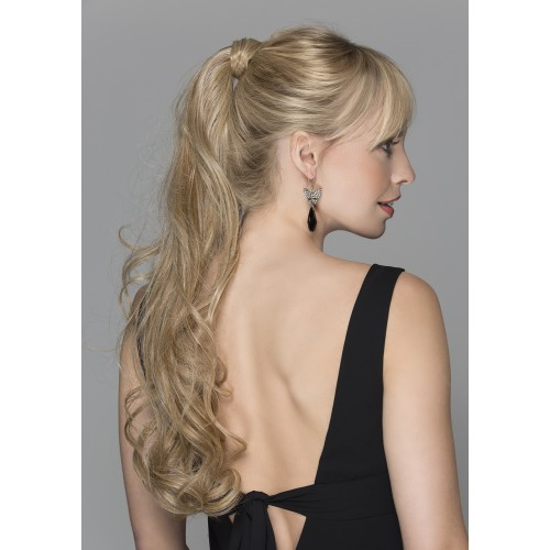 rajout extension cheveux longs bouclés powerpieces : CHAMPAGNE NEW